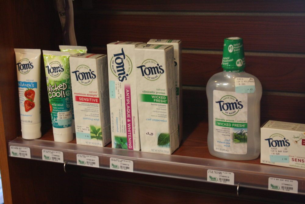 Lewisburg Pharmacy carries Tom's of Maine